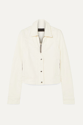 RtA Noelle Denim Jacket - White