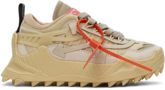 Off-White Beige Odsy-1000 Sneakers