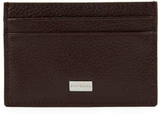 Bruno Magli Textured Leather Credit Card Holder
