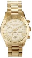 Michael Kors MK8214 Watch Layton Goldtone Chronograph