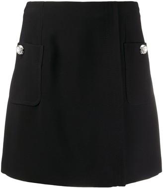 No.21 A-line mini skirt