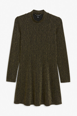 Monki Long-sleeve mini dress