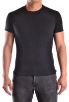 Daniele Alessandrini Men's Black Cotton T-shirt.