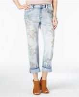 William Rast My Bae Embroidered Straight-Leg Jeans