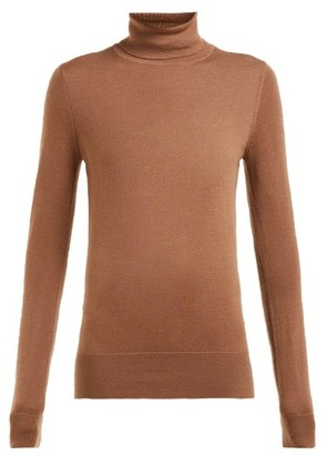 Extreme Cashmere - No. 96 Breeze Roll-neck Cashmere Sweater - Tan
