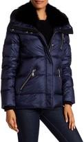 Andrew Marc Chloe Genuine Fox Fur Quilted Jacket