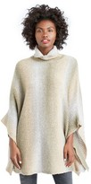 Sole Society Ombre Turtleneck Poncho