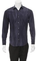 Simon Spurr Distressed Button-Up Shirt