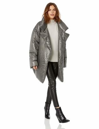 Norma Kamali Women's Sleeping Bag Coat to Knee