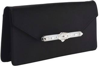 Judith Leiber Black Silk Clutch bags