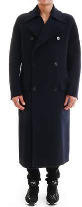 Loewe Long Peacoat Navy Blue