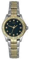 GUESS GUESS? Women's WaterPro G10607L Silver Two-tone Stainless-Steel Quartz Watch with Dial