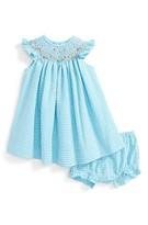 Luli & Me Infant Girl's Seersucker Dress