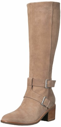 Gentle Souls by Kenneth Cole Women's Verona Knee-High Riding Boot with Heel Boot