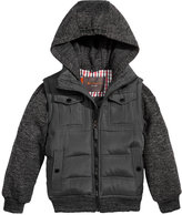 Ben Sherman Hooded Layered-Look Coat, Little Boys (4-7)