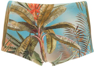 Trunks Lygia & Nanny printed Ipanema swimming