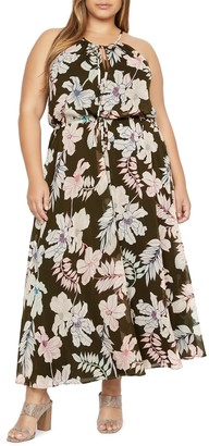 Sanctuary Big Flirt Floral Print Maxi Dress