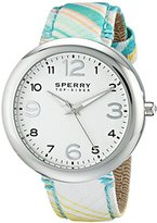 Sperry Women's 10014920 Sandbar Stainless Steel Watch with Nylon Strap