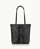 GiGi New York Hannah Tote Embossed Python