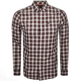 Superdry Long Sleeved Check Shirt Black