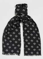 Topman Black Dress Scarf