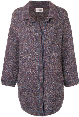 Missoni Pre-Owned 1990's Button Cardi-Coat