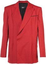 Yang Li exposed seam blazer