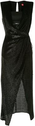 Manning Cartell Australia Wrap Front Textured Dress