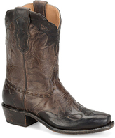 Sonora Chocolate Jessi Leather Cowboy Boot