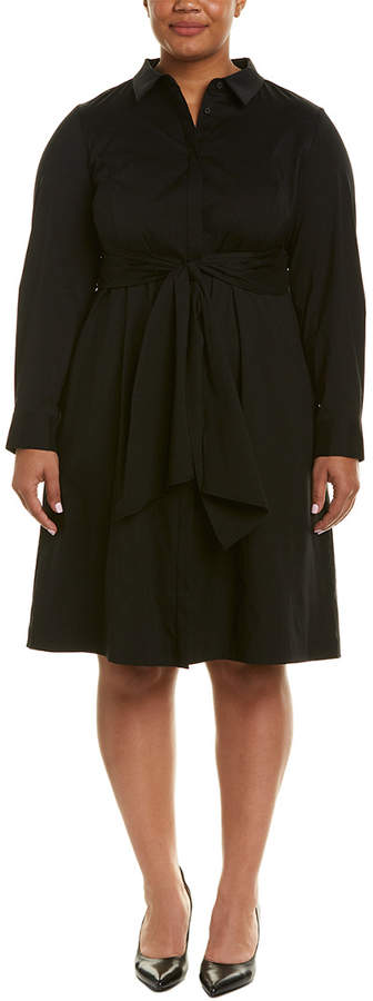 066abf13d505 Lafayette 148 New York Black Plus Size Dresses - ShopStyle