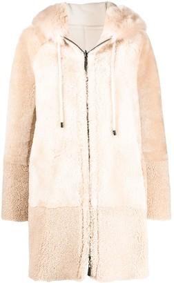 Peserico Hooded Coat