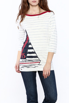 Hatley Sail Stripe Top