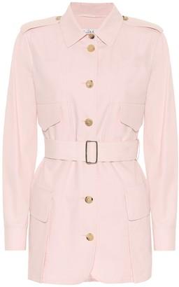 Max Mara Orfeo cotton twill safari jacket