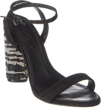 Schutz S-Miraceli Suede Heeled Sandal