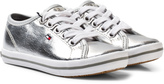 Tommy Hilfiger Silver Lace Trainers