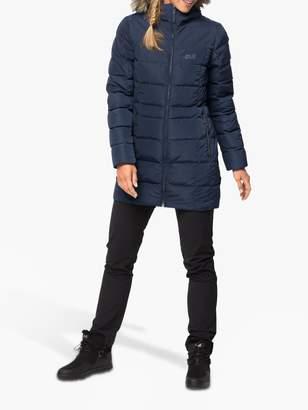 Jack Wolfskin Baffin Island Women's Insulated Coat, Midnight Blue