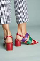 Miista Ivon Colorblocked Heeled Sandals