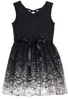 Blush by Us Angels Girl's Sleeveless Lace Dress