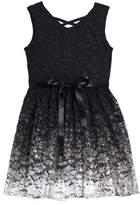 Blush by Us Angels Sleeveless Lace Dress