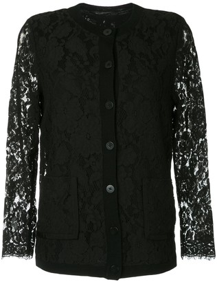 Onefifteen Lace Panel Cardigan