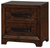 Furniture Of America Nightstand Dark Brown