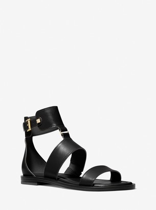 MICHAEL Michael Kors Amos Leather Gladiator Sandal