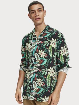 Scotch & Soda Floral Print Hawaii Shirt Regular fit | Men