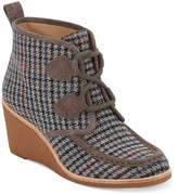 Women's Rosa Wedge Bootie -Grey