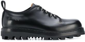 Oamc ridged sole lace-up shoes