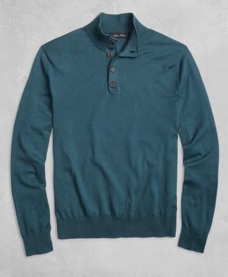 Brooks Brothers Golden Fleece 3-D Knit Henley