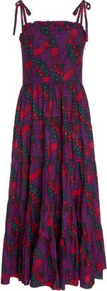 Ulla Johnson Ellyn Cotton Printed Midi Dress
