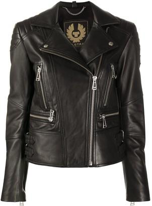 Belstaff Off-Centre Zip Fastening Jacket