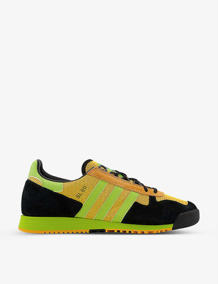 adidas SL 80 suede and nylon trainers