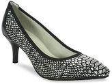 Tahari Toby Snake Print Heels